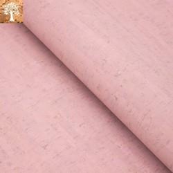 Tissu en Liège - Rose